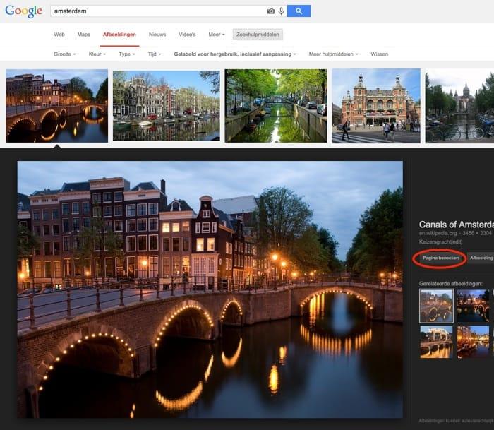 rechtenvrije foto Amsterdam